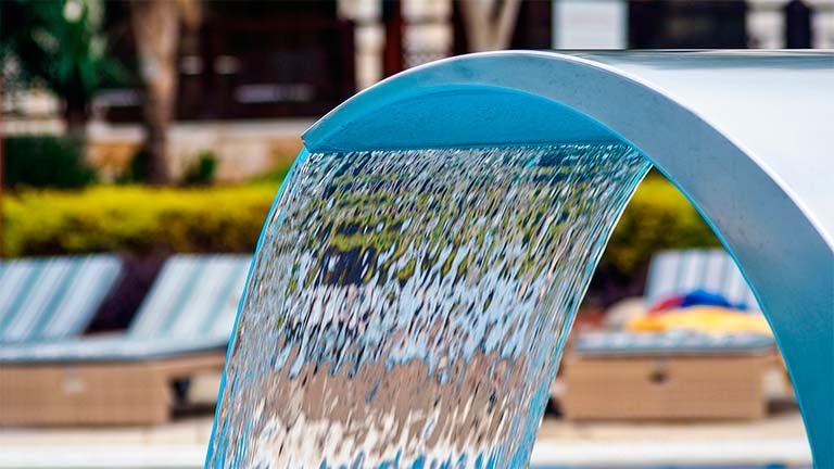 circulación del agua de piscinas